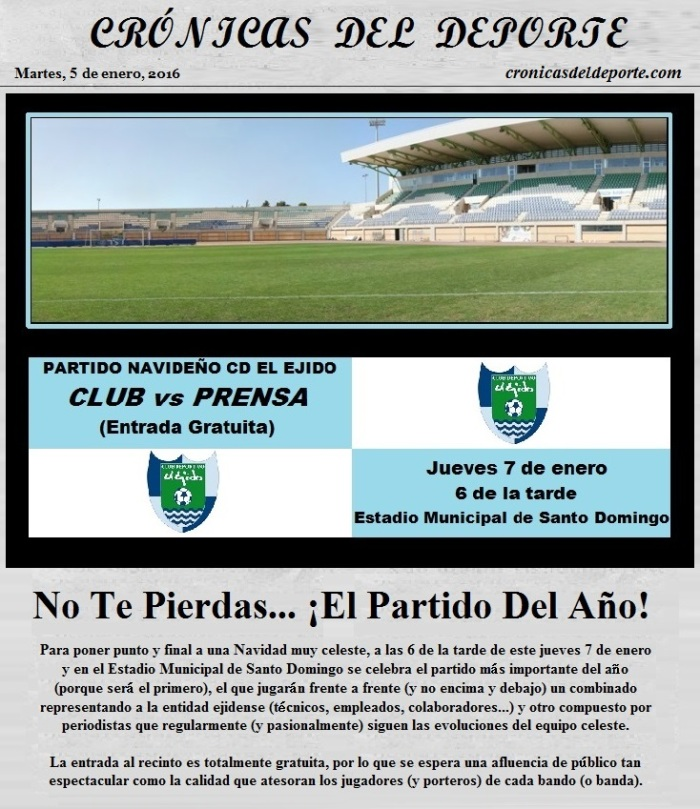Partido Club vs Prensa 1